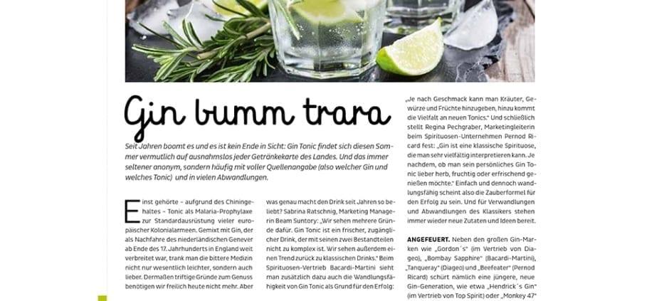 Gin bumm trara