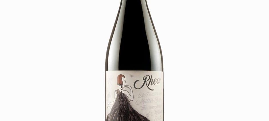 Flasche Die Rhea