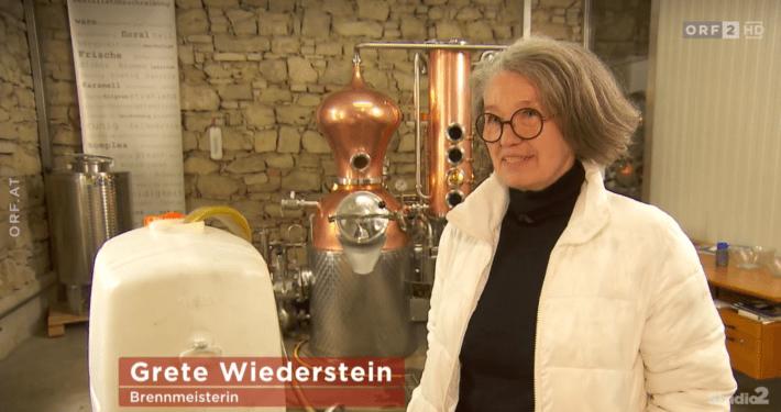 Grete Wiederstein im ORF2